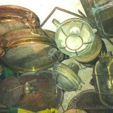 Antigüedades: LOTE DE ANTIGUEDADES DE BARCO PRECIO A CONVENIR. Lote 32576438