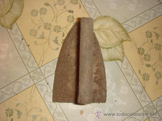 Antigüedades: Antigua plancha de hierro de principios de siglo XX - Foto 2 - 31150651