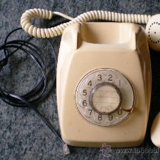 Teléfonos: TELÉFONO CITESA COLOR MARFIL CREMA. Lote 31415515