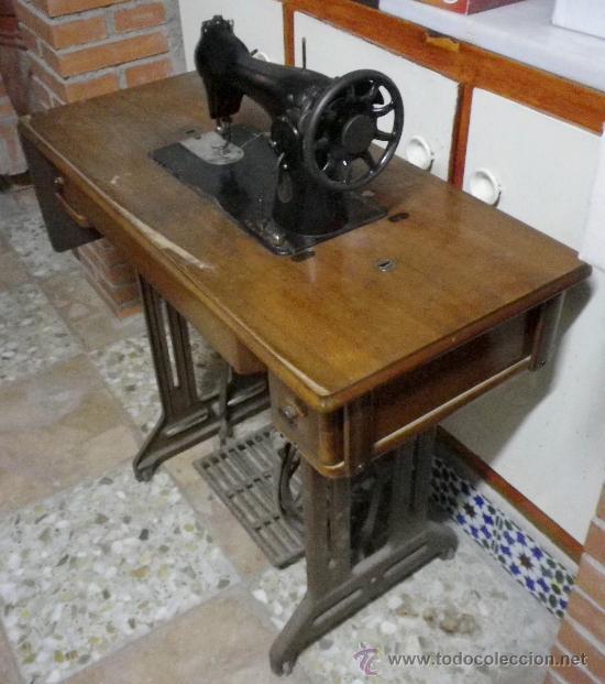 Antigüedades: Maquina de coser Singer. - Foto 2 - 31223897