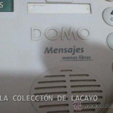Teléfonos: TELEFONO DOMO CON CONTESTADOR MANOS LIBRES. Lote 31231071