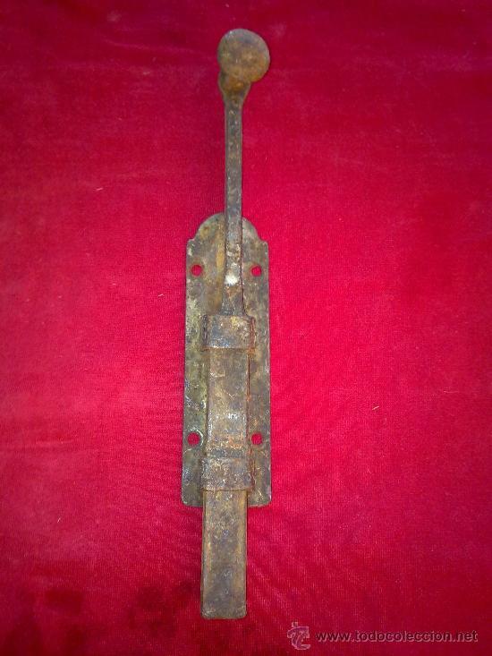 ANTIGUA ALDABA O PESTILLO (Antigüedades - Técnicas - Cerrajería y Forja - Aldabas Antiguas)