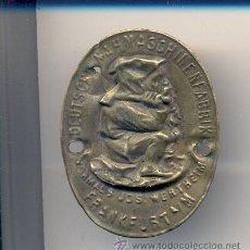 Antigüedades: CHAPA DE MAQUINA DE COSER WERTEHIM . Lote 31289561