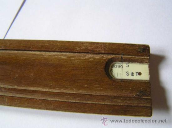 Antigüedades: REGLA DE CALCULO TALLER DE PRECISION ARTILLERIA REGLA ALCAYDE CALCULADORA SLIDE RULE RECHENSCHIEBER - Foto 20 - 31405635