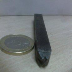 Antiquités: PUNZÓN PARA GRABAR LA X - 6MM -. Lote 45749267