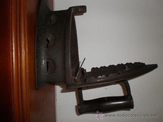PLANCHA (Antigüedades - Técnicas - Planchas Antiguas - Carbón)