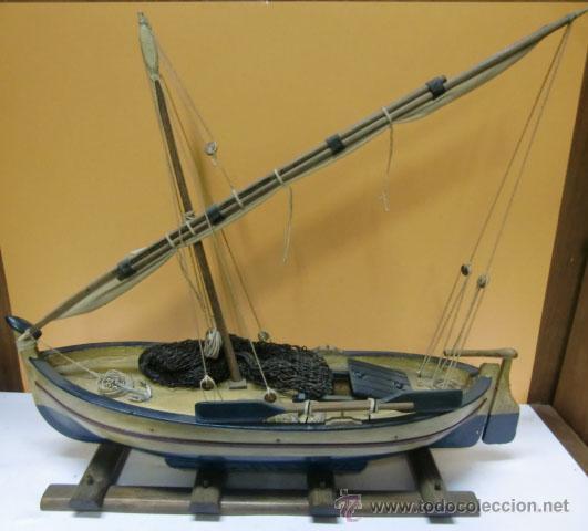 Barco mallorqu n de madera comprar antig edades marinas - Antiguedades de barcos ...