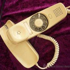 Teléfonos: TELEFONO GONDOLA AÑO 70. COLOR MARFIL.(FUNCIONA ). Lote 31686312