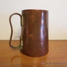 Antigüedades: MEDIDA DE COBRE ANTIGUA. Lote 31734143