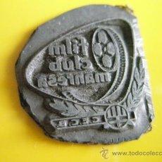 Antigüedades: ANTIGUO SELLO TAMPON-CLUB CATALAN-FILM CLUB MANRESA-C.E.C.B.-.. Lote 31798087