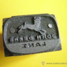 Antigüedades: R-ANTIGUO SELLO TAMPON-JOHN DEERE-EMPRESA MUNDIAL-.. Lote 31798191