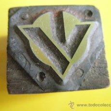 Antigüedades: ANTIGUO SELLO TAMPÓN DE EMPRESA CATALANA.. Lote 34418111