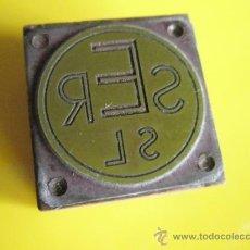 Antigüedades: ANTIGUO SELLO TAMPÓN-EMPRESA CATALANA-PERFECTO.. Lote 34467840