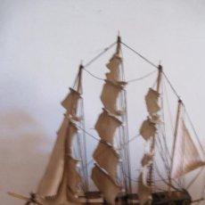 Antigüedades: MAQUETA DE FRAGATA ESPAÑOLA 1780. Lote 31814182