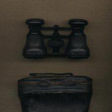 Antigüedades: ANTEOJOS PRISMÁTICOS BINOCULARES DE TEATRO. CON FUNDA DE MANUEL PANACH ÓPTICO DE VALENCIA.. Lote 31822735