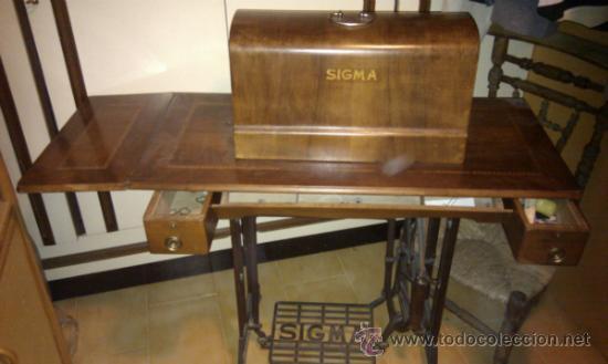 M quina de coser antigua marca singer con muebl comprar - Maquinas de coser con mueble ...