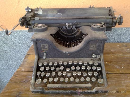 ANTIGUA MAQUINA DE ESCRIBIR HISPANO OLIVETTI, M40. (Antigüedades - Técnicas - Máquinas de Escribir Antiguas - Olivetti)