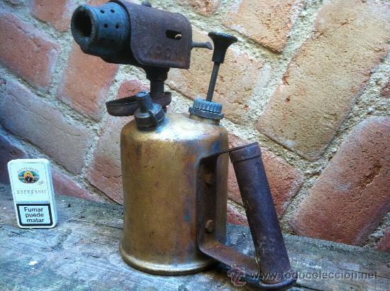 Antiguo soplete soldador de fontanero a gasoli comprar - Herramientas de fontanero ...