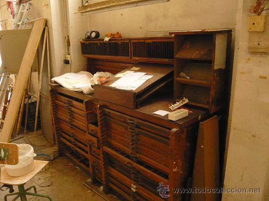 Antigüedades: El mueble antes de su restauración - Foto 5 - 32067331