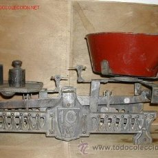 Antigüedades: BALANZA DE 10 KG . Lote 32199041