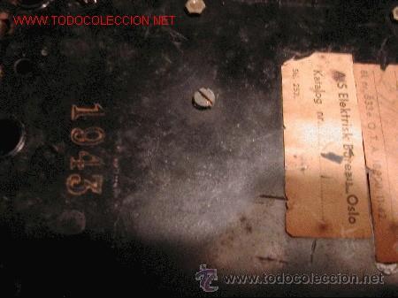 Teléfonos: TELEFONO ANTIGUO NORUEGO-METALICO CROMADO-AÑO 1943 - Foto 3 - 32201789
