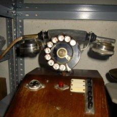 Teléfonos: .ANTIGUO TELÉFONO MADERA P. JAQUESSON PARIS. Lote 32278577