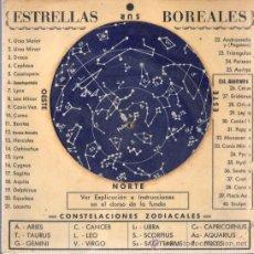 Antigüedades: CALCULADORA DE LAS ESTRELLAS BOREALES CONSTELACIÓNES ZODIACO DE J.P.T DE BARCELONA. Lote 32293113