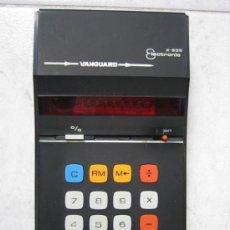 Antigüedades: CALCULADORA VANGUARD ELECTRONIC X.805 MODELO:17PA. FUNCIONA. Lote 32304538