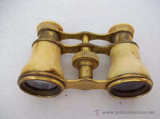 BINOCULARES DE TEATRO DUCHESSE - 12 VERRES - SIGLO XIX (Antigüedades - Técnicas - Instrumentos Ópticos - Binoculares Antiguos)