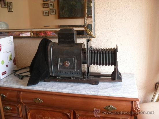 Antigüedades: importante linterna magica,con fotos cristal,muchas fotos mirala,tambien camara fotos - Foto 4 - 32333349