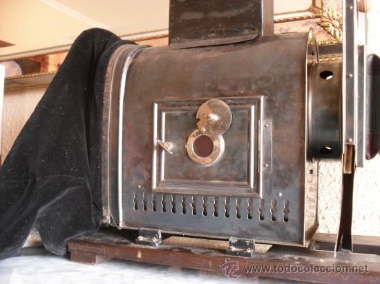 Antigüedades: importante linterna magica,con fotos cristal,muchas fotos mirala,tambien camara fotos - Foto 8 - 32333349