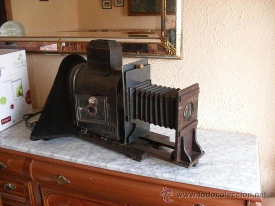 Antigüedades: importante linterna magica,con fotos cristal,muchas fotos mirala,tambien camara fotos - Foto 12 - 32333349