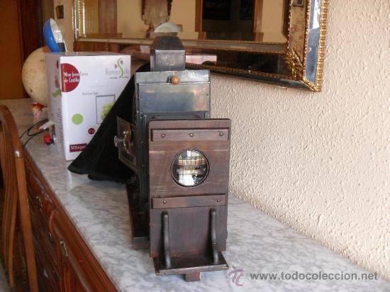 Antigüedades: importante linterna magica,con fotos cristal,muchas fotos mirala,tambien camara fotos - Foto 24 - 32333349