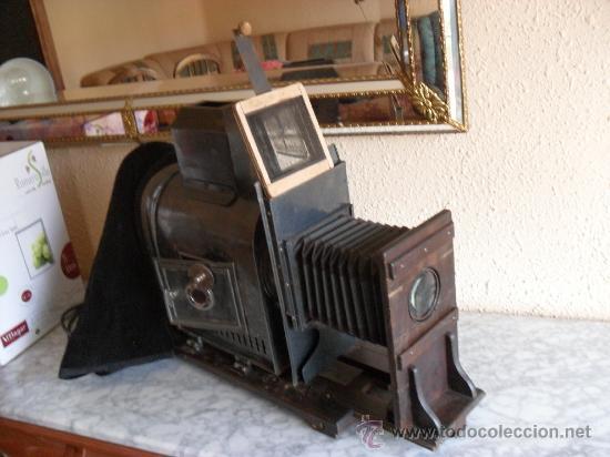 Antigüedades: importante linterna magica,con fotos cristal,muchas fotos mirala,tambien camara fotos - Foto 6 - 32333349