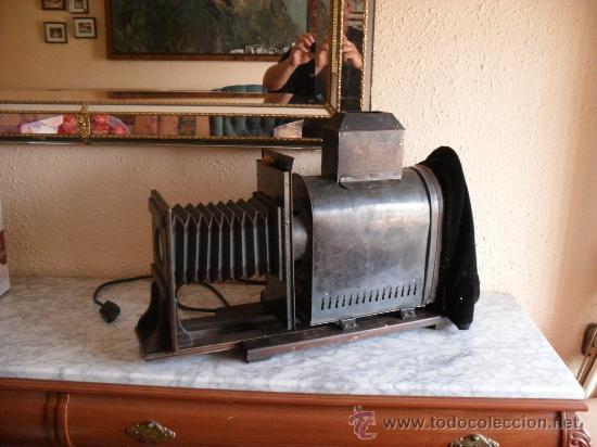 Antigüedades: importante linterna magica,con fotos cristal,muchas fotos mirala,tambien camara fotos - Foto 22 - 32333349