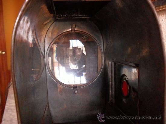 Antigüedades: importante linterna magica,con fotos cristal,muchas fotos mirala,tambien camara fotos - Foto 20 - 32333349