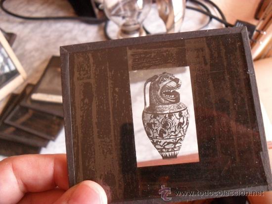 Antigüedades: importante linterna magica,con fotos cristal,muchas fotos mirala,tambien camara fotos - Foto 10 - 32333349
