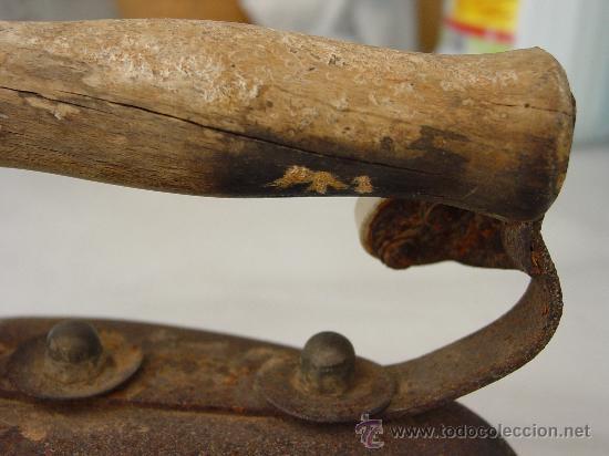 Antigüedades: PLANCHA ANTIGUA ELÉCTRICA. - Foto 2 - 32341607