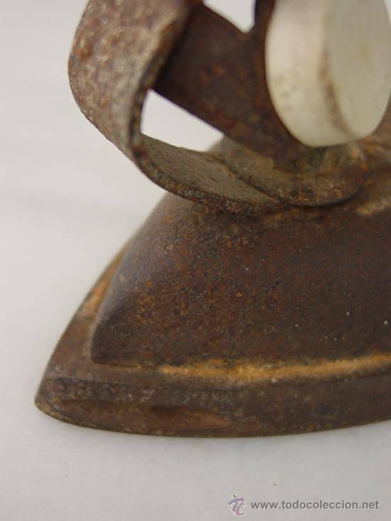 Antigüedades: PLANCHA ANTIGUA ELÉCTRICA. - Foto 4 - 32341607
