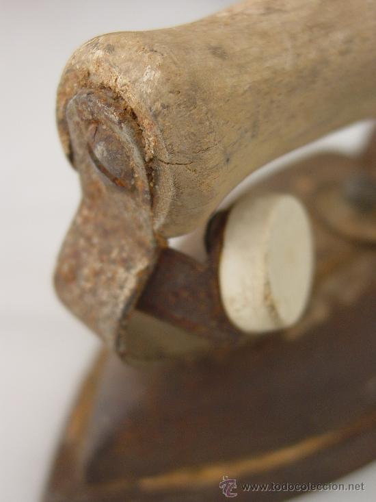 Antigüedades: PLANCHA ANTIGUA ELÉCTRICA. - Foto 5 - 32341607