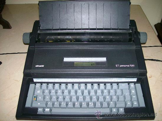 MAQUINA ESCRIBIR ELECTRICA / OLIVETTI ET PERSONAL 530 (Antigüedades - Técnicas - Máquinas de Escribir Antiguas - Olivetti)