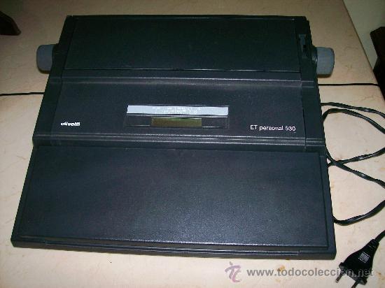 Antigüedades: MAQUINA ESCRIBIR ELECTRICA / OLIVETTI ET PERSONAL 530 - Foto 3 - 109482484