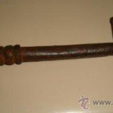 Antigüedades: LLAVE DE HIERRO. 20 CM LARGO. Lote 32538837