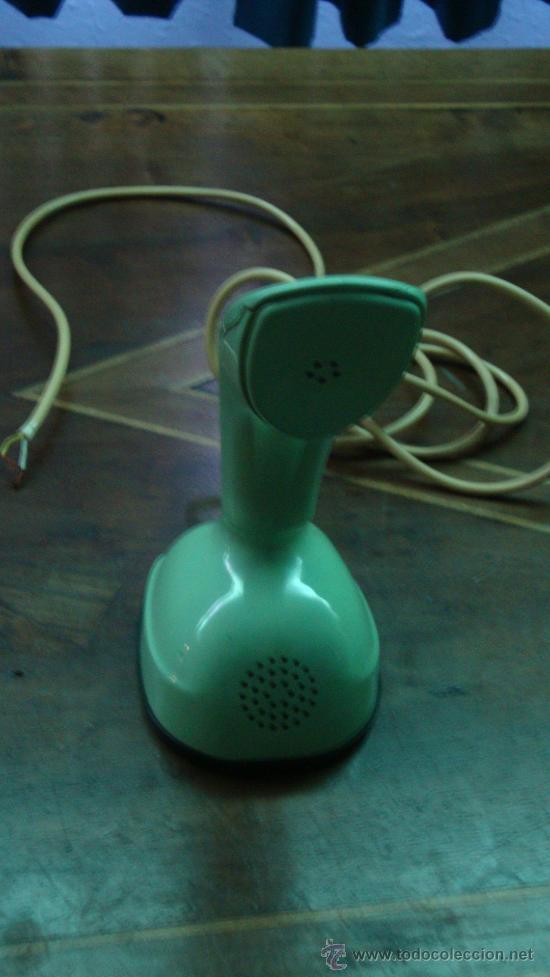 Teléfonos: TELEFONO ERICSON, ERICOFON, SERIE COBRA, Made Sweden, Año 1960, Rajado en bocina - Foto 2 - 32566642