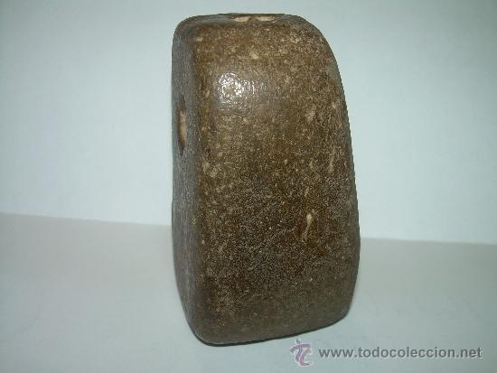 Antigüedades: MUY ANTIGUA MEDIDA DE PESO CON CONTRASTE DE CERAMICA VIDRIADA...200 GR. - Foto 5 - 32585669