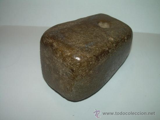 Antigüedades: MUY ANTIGUA MEDIDA DE PESO CON CONTRASTE DE CERAMICA VIDRIADA...200 GR. - Foto 9 - 32585669