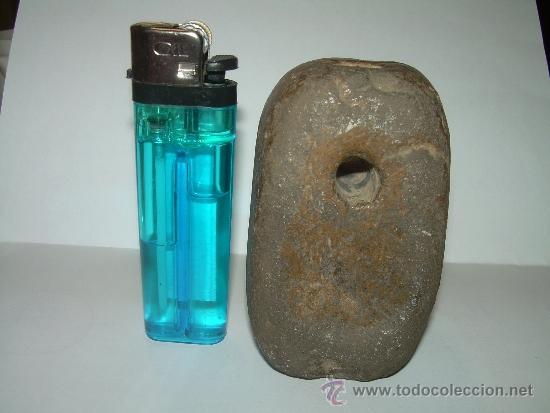 Antigüedades: MUY ANTIGUA MEDIDA DE PESO CON CONTRASTE DE CERAMICA VIDRIADA...200 GR. - Foto 10 - 32585669
