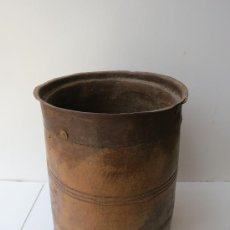 Antigüedades: MEDIDA DE GRANO AFRICA. Lote 32664020