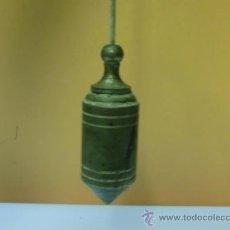 Antiquitäten - Plomada antigua de bronce - 32710415
