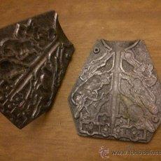 Antigüedades: ANTIGUO Y RARO SELLADO DE FIGURAS VARIAS PARA MATERIALES MALEABLES. Lote 32786806